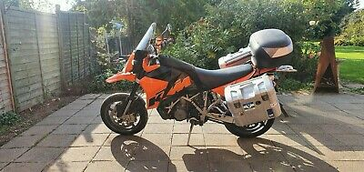 Ktm 950 supermoto with full touring kit, better than adventure, SMT