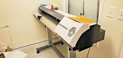 Roland Vp 300 Versacamm Printer Cutter Low Hours Refurbished
