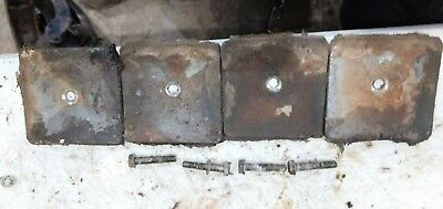 Wisconsin Vg4d Cylinder Engine Parts Set Of 4 Valve Covers An Bolts Parts