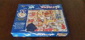 Wasgij Jigsaw Puzzle Stop the Clock 1000 pieces