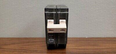 Eaton Cutler Hammer Chf215 Circuit Breaker 15 Amp 2 Pole 15a 2p New No Box