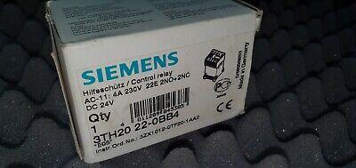 Siemens hilfsschütz 3th42 62-0ad0//3th4262-0ad0 NUOVO!!!