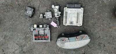 Audi A3 Sport MK2 2.0 TDI ignition barrel key transponder engine ecu kit