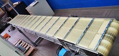 Dorner 3200 Series Powered Flat Belt Conveyor 12 X 8 230460vac 3 Servo