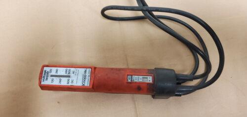 Knopp K-60 Cat Number. Voltage Tester