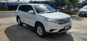2012 Toyota Kluger KX-R 7 SEATER AUTO FWD Williamstown North Hobsons Bay Area Preview