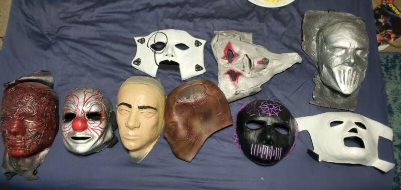 Slipknot Mask Latex Blank Unpainted WANYK