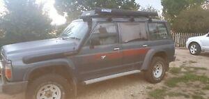 1990 Y60 nissan patrol, 4x4, TB42, 7 seater, sell/swap