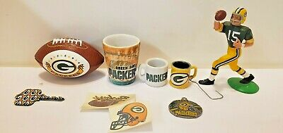 Green Bay Packers Fan Souvenir & Memorabilia Bundle 8 Pieces ~ FREE -