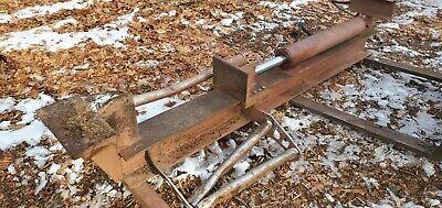 Heavy Duty Log Splitter Skid Steer Loader Forks Or 3ph 36 Stroke 4 Way Wedge