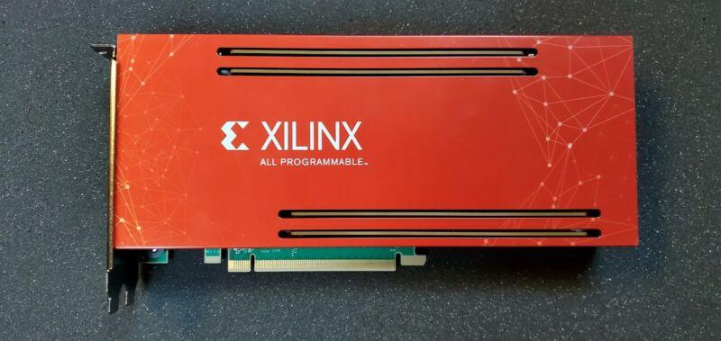 Xilinx PCIe FPGA BCU1525 64GB DDR4 Mining FPGA Board VU9P