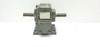Winsmith 917db Speed Reducer Gearbox 51 Dual Shaft 2.01 Hp 1750 Rpm 34 Output