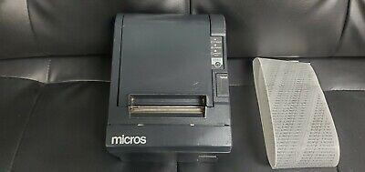 Epson Micros Tm-t88iii Pos Point Of Sale Thermal Usb Receipt Printer M129c