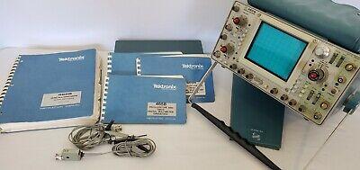 Tektronix 465b Analog Oscilloscope With Manual