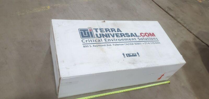 TERRA UNIVERSAL 6601-24-H Clean Rooms  Ceiling Terminal Hepa 120 Filter FAN 2x4
