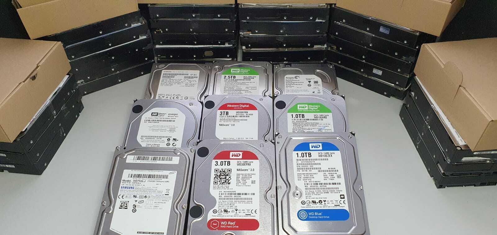 3,5 Zoll SATA Festplatte HDD 250GB 320GB 500GB 640GB 750GB 1TB 1,5TB 2TB 2,5TB 3