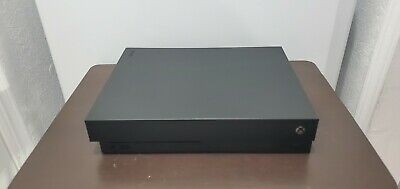 Microsoft Xbox One X 1TB Console - Black