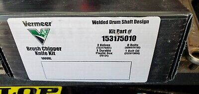 Oem Vermeer Brush Chipper Knife Kit For Bc1000xl Part153175010 Bx53