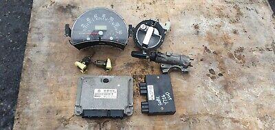 VW Beetle 8V 2000 2.0 petrol ignition barrel key transponder engine ecu kit