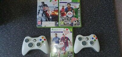 Xbox 360 controller and games