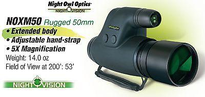 Night Owl Optics 5X - 5 Power NOXM50 Night Vision Monocular Made in Russia