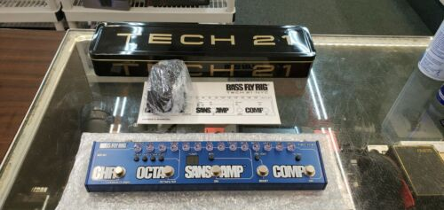 Tech 21 Bass Fly Rig Guitar Effects Pedal EXCELLENT!!!!