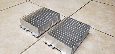Two 2 Large Aluminum Heat Sink - L X W X H 7 34 X 5 38 X 2