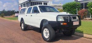 2005 MITSUBISHI TRITON GLX 4x4 DEISEL MANUAL DUAL CAB UTE Durack Palmerston Area Preview