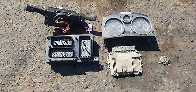 Vauxhall Zafira B 1.9 CDTI ignition barrel key transponder engine ecu kit