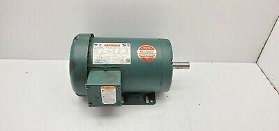 Leeson Wattsaver 120922.00 Electric Motor 1 12hp 1750 Rpm 145t 230460 190380v