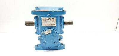 Morse 20w Speed Reducer Gearbox 101 1 Dual Shaft 1.92 Hp 1750 Rpm 34 Input
