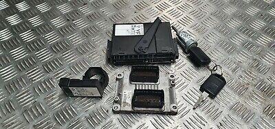 Vauxhall Corsa C 2003 1.0 petrol ignition barrel key transponder engine ecu kit
