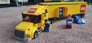 Lego City Yellow Freight Truck #3221