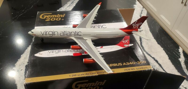 Gemini Jets Virgin Atlantic Airways A340-313X 1:200 G2VIR375  Named Molly G-VFAR