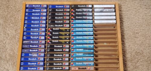Scotch BX/CX/XS/Dynarange Type 1 Normal Bias Cassette Tapes (53) New-Sealed