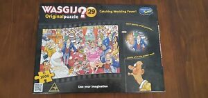 Wasgij Jigsaw Puzzle Catching Wedding Fever 1000 pieces