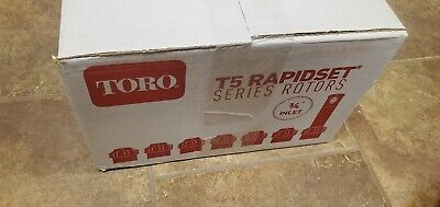 Toro T5 Rapidset Medium to Large Lawn Rotor Box of 20 Brand New 2.0GPM nozzle