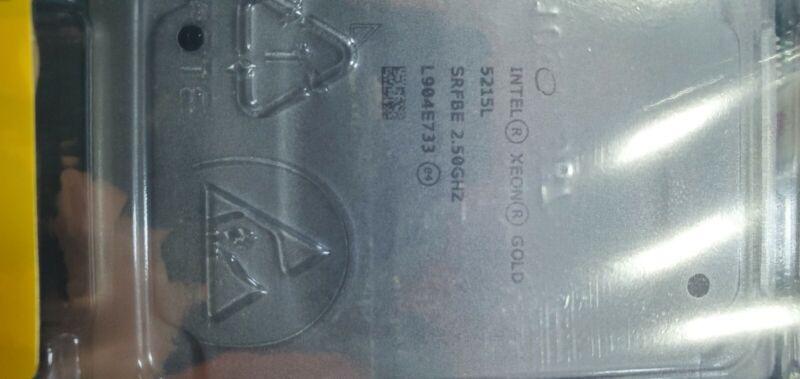 Intel® Xeon® Gold 5215L 2.5G, 10C/20T, 10.4GT/s, 13.75M Cache