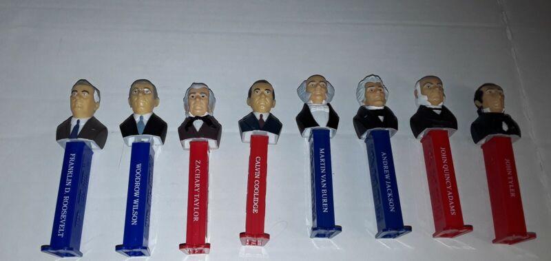 Presidents Pez Dispeners Lot Usa FDR Wilson Jackson Democrat Republican