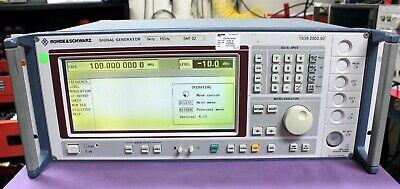 Rohde Schwarz Smt-02 Signal Generator