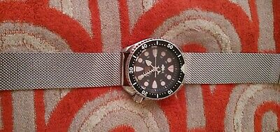 Used mens seiko divers watch