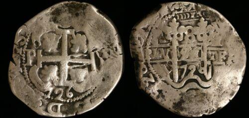 1726-P Y Bolivia 8 Reales - Spanish Cob - KM# 35