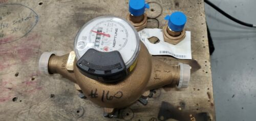 """NEW!!!! NEPTUNE T10 1"""" WATER METER BRASS WITH FITTINGS"""