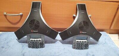 Lot Of 2 Polycom Soundstation Ip 5000 Conference Speaker Phone 2201-30900-001