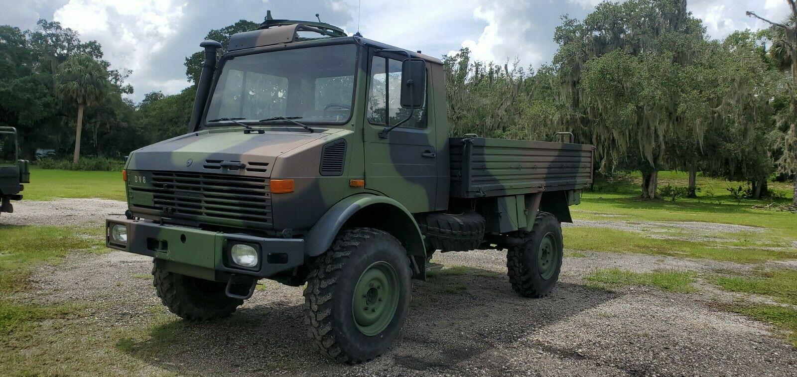 Military Vehicle Truck 1983 Mercedes Unimog U1300L