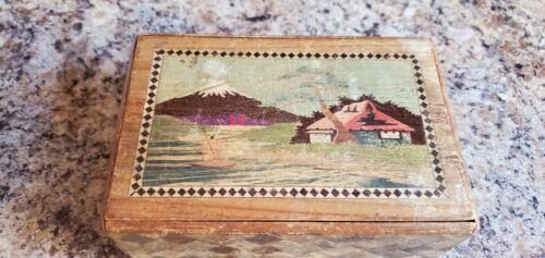 Japanese style puzzle box