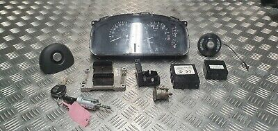 Vauxhall Agila 16V 2003 1.2 petrol ignition barrel key transponder engine ecu