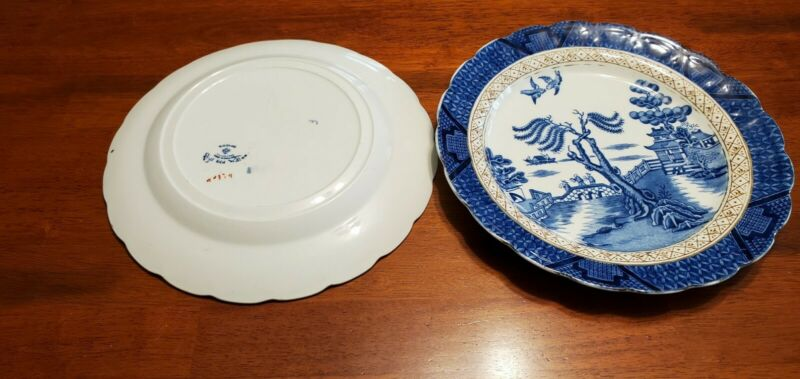 Booths Real Old Willow 9.25in Dinner Plate