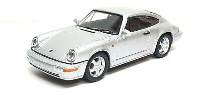 1/64 Kyosho PORSCHE 911 CARRERA RS (964) SILVER diecast car model