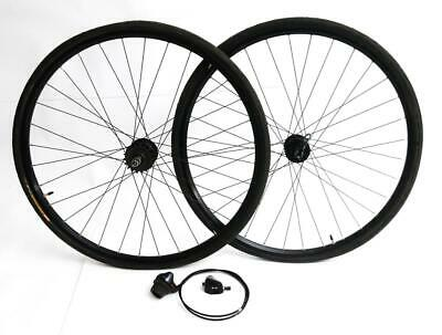 "Details about  /Ryde 26mm ID Rims 27.5/"" 650b MTB Bike Wheels Tubeless Thru Axle 15x 100 12x 142"